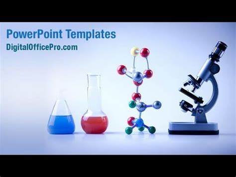 powerpoint themes laboratory laboratory equipment powerpoint template backgrounds