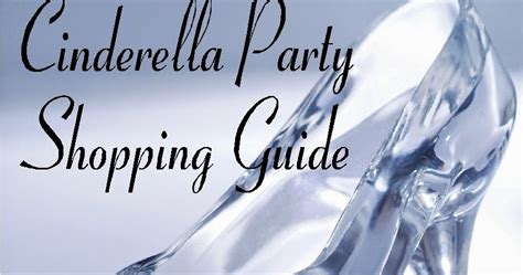 cinderella printable party decorations cinderella party gift guide kandy kreations