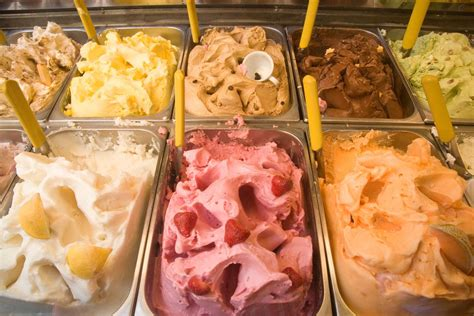 is gelato more flavorful than ice cream