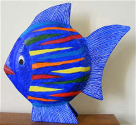 How To Make Paper Mache Fish - paper mache