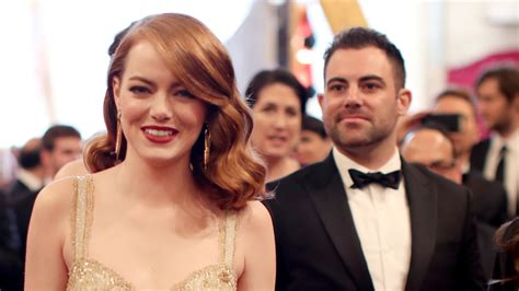 emma stone brother family night see the nominees who brought a relative to