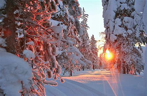 imagenes de paisajes de diciembre papa noel en laponia papa noel en laponia