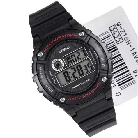 Jam Tangan Pria Casio W 216h 3bvdf Original jam tangan casio digital w 216h original garansi resmi