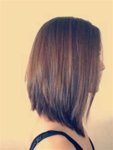 long angled bob hairstyles with back and side views and bangs long angled bob haircut back view sweet haircuts
