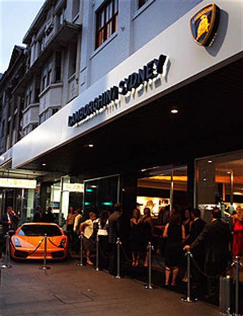 Lamborghini Dealership Sydney Lamborghini Boom In Australia Con Clientela