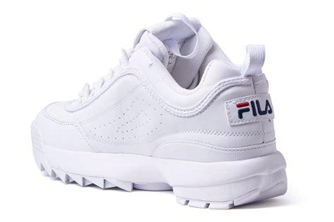 Fila Disruptor In White disruptor 2 bright white sneakers fila shoe chapter