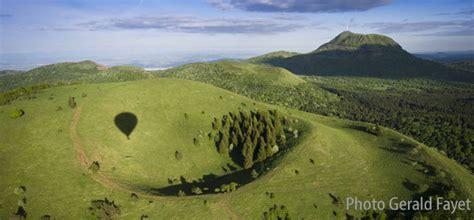 Auvergne en montgolfiere