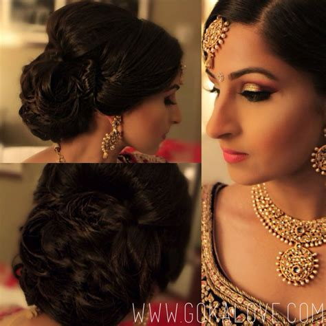 engagement hairstyles pakistani images 171 best makeup hair by gokalove com images on pinterest
