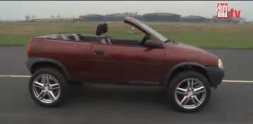 Vauxhall Corsa Convertible Opel Corsa Turned Into Convertible Suv Autoevolution