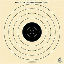 500 Yard Target Size by Sr 1 Sr1 Nra Official 100 Yard Type High Power