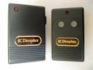 remote for dimplex electric inserts fireplaces