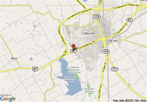 where is cleburne texas on the map map of inn express hotel suites cleburne cleburne