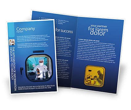 Kids And Science Brochure Template Design And Layout Download Now 06059 Poweredtemplate Com Science Brochure Template