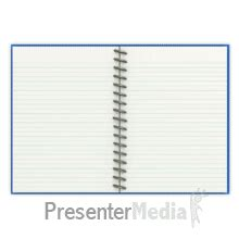 Notebook With Turning Page Page Turning Effect In Powerpoint