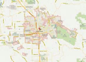 santa rosa california map