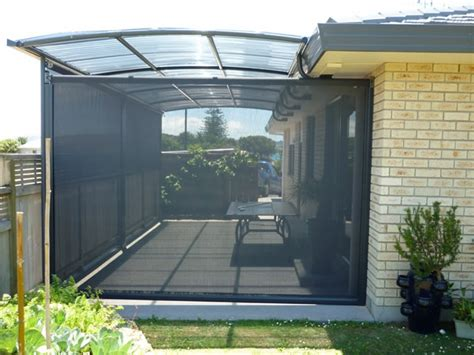 Outdoor Roller Blinds Shade Sails Verandah Curtains And Other Outdoor Canvas
