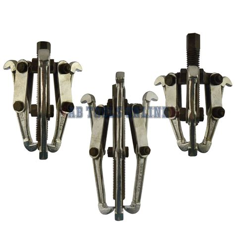 Amarture Bearing Puller Ab 1 gear puller 3 leg hub bearing removal pulley tool set 3 quot 4