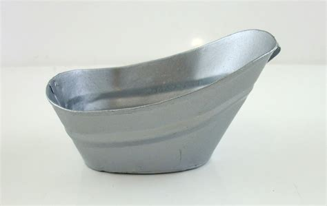 tin bathtubs for sale dolls house miniature kitchen accessory old fashioned tin