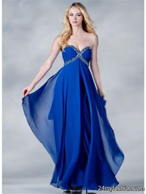 Royal blue prom dresses 2017 2018 B2B Fashion