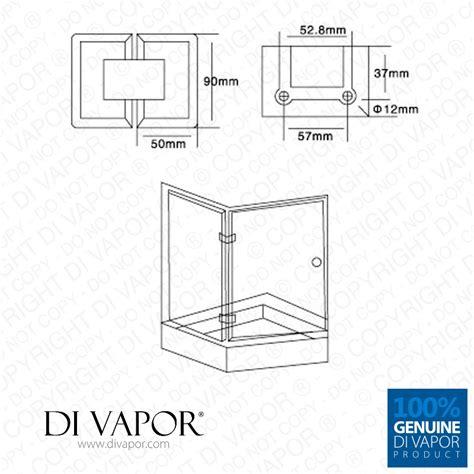 hinged shower door replacement 135 degree glass to glass shower door hinge chrome