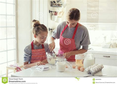 the knife mom used mother s day kitchen gifts rada blog mother and daughter are cooking stock photo image 58858895