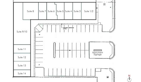 strip mall floor plans plaza 47 site rein grossoehme commercial real estate