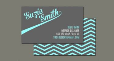 Multicolor Chevron Bussiness Card Template by 12 Chevron Business Card Templates Free Printable Designs