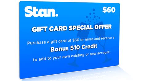 more christmas gifts for the streaming music and video lover gizmodo australia - Stan Gift Cards