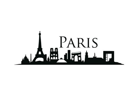 paris wall sticker wall art com