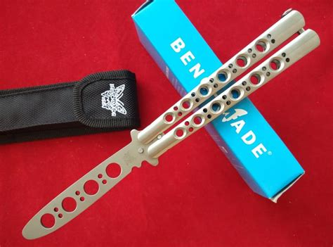 bench made 42 benchmade balisong trainer www imgkid com the image kid has it