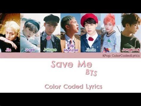 download mp3 bts save me bts save me color coded han rom eng lyrics mp3 download