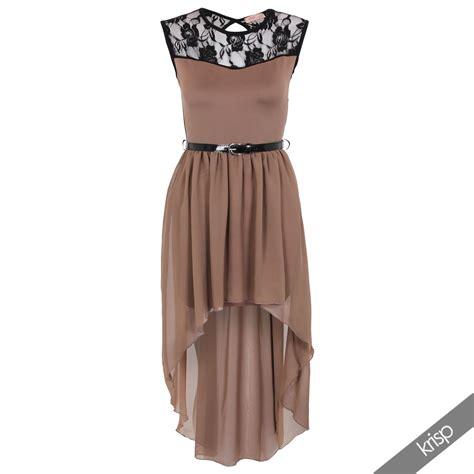 Dress Mini Rumbai damen asymmetrische tauchen saum spitzenkleid mit g 252 rtel