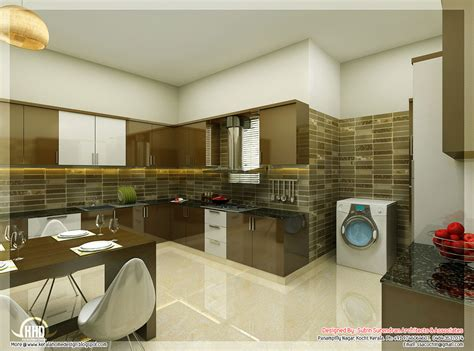 interiors for kitchen beautiful interior design ideas kerala home design and