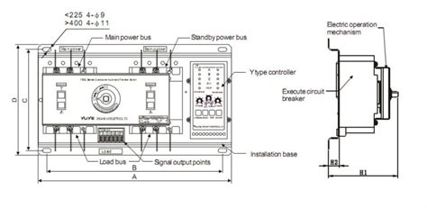 manual transfer switch auto manual transfer switch