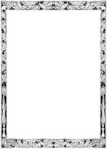 Decorative Page Borders by Decorative Page Borders Free Clipart Best