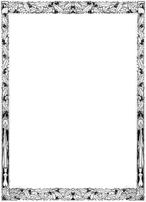 Decorative Page Borders by Decorative Border Designs Clipart Best