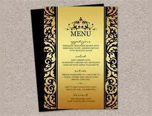 Dinner Menu Templates by 17 Dinner Menus Psd Word