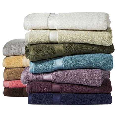 performance solid bath towels threshold target