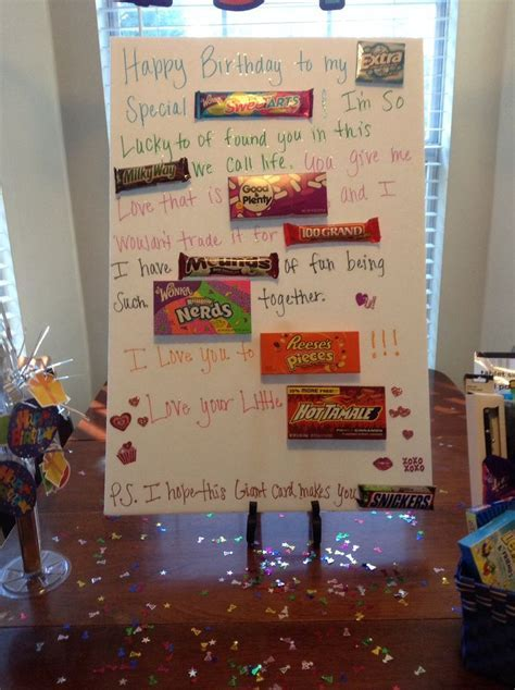 Boyfriends birthday surprise!   Inspiring Ideas