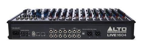 Mixer Alto Live 1604 alto professional live 1604 16 channel 4 unpowered