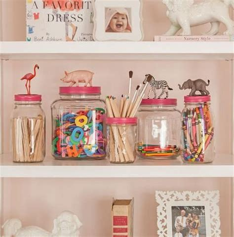 pinterest diy home decor projects cute diy animal jars perfect to organize a children s