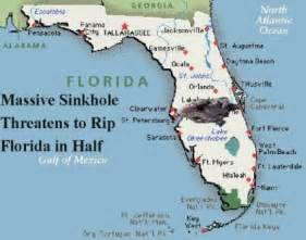 sinkhole risk map florida sinkhole threatens to rip florida in half