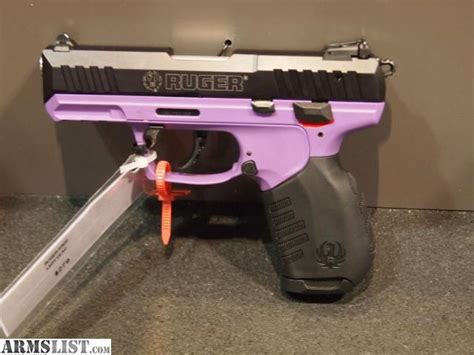 ruger sr22 colors armslist for sale ruger sr22 purple lilac leavender
