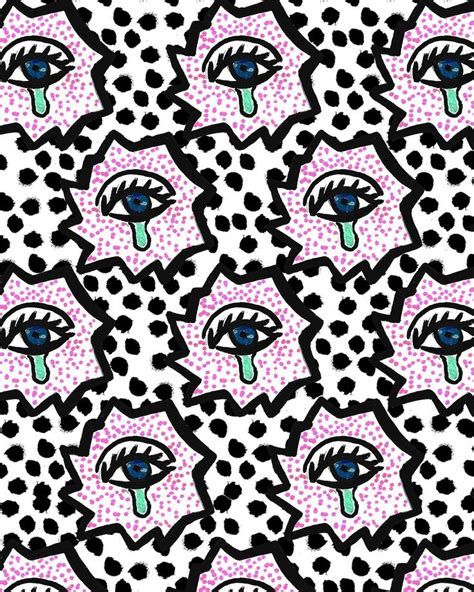 pattern pop art pop art eyes prints patterns pinterest