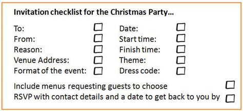 christmas parties 18 steps to planning the christmas