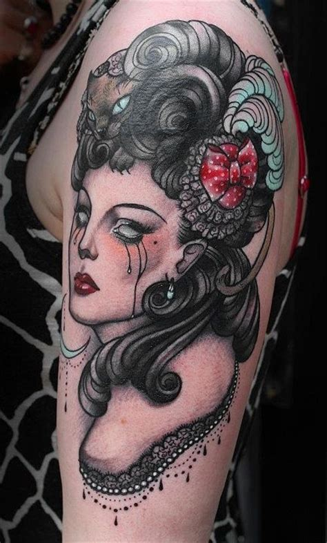 victorian tattoo tattoos inspired