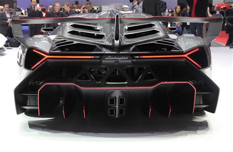 Lamborghini Veneno Rear 50th Anniversary Lamborghini Veneno