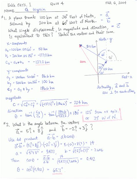 Engineering Physics I Ksu Physics 213 223
