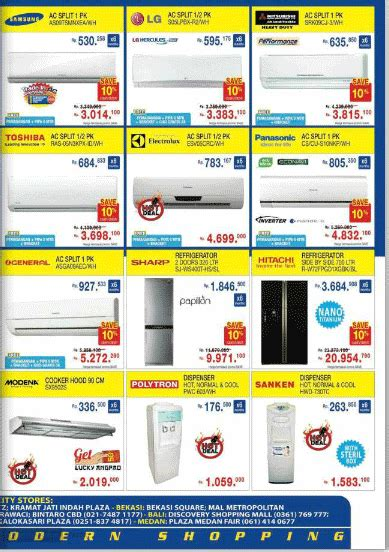 Ac Sharp Di Electronic City brosur promo electronic city sai 1 maret 2013