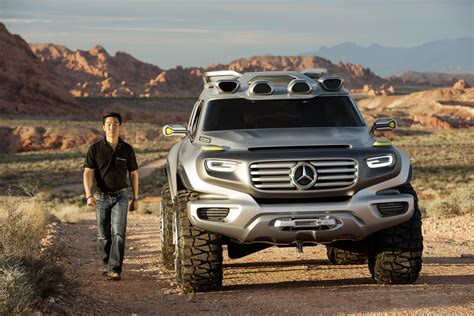 future mercedes g mercedes benz ener g force concept takes part in los